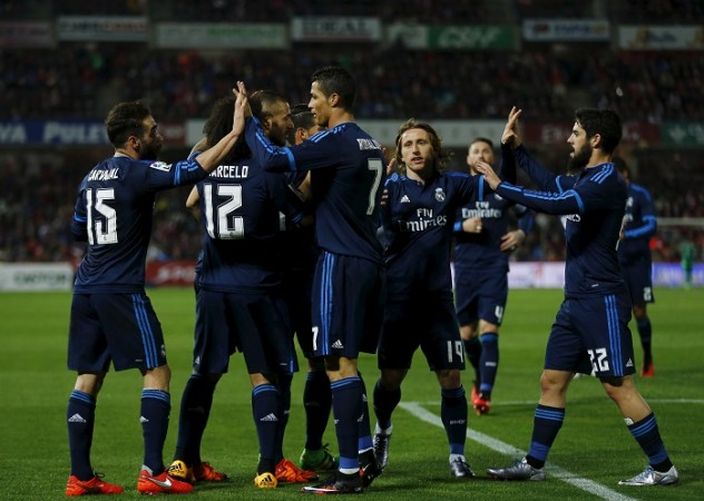 Real Madrid Cristiano Ronaldo Luka Modric