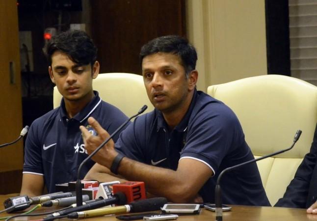 Ishan Kishan Rahul Dravid India U-19