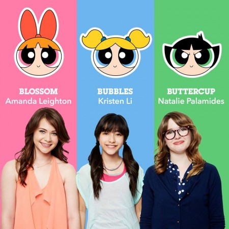 The new voice actors of Powerpuff Girls