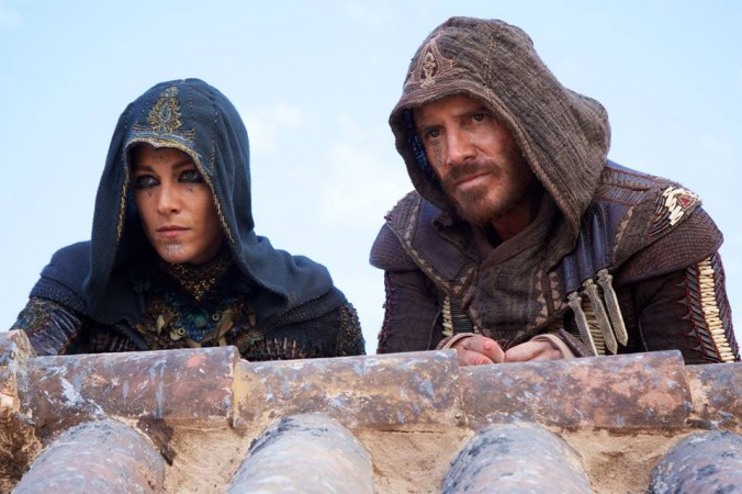 Michael Fassbender in Assassin's Creed movie