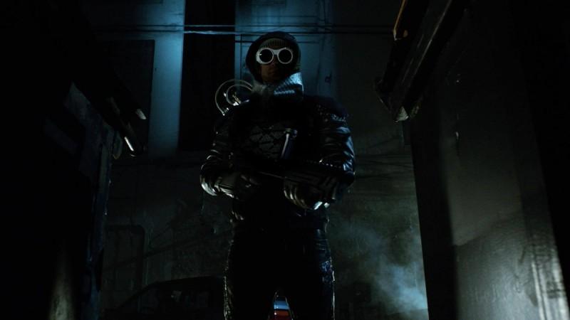 "Nathniel Barnes as Mr Freeze in Season 2B of ""Gotham"""