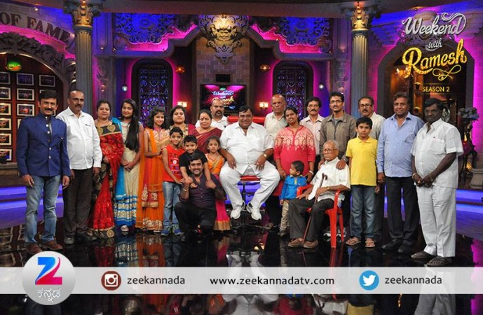 Doddanna on 'Weekend with Ramesh 2'