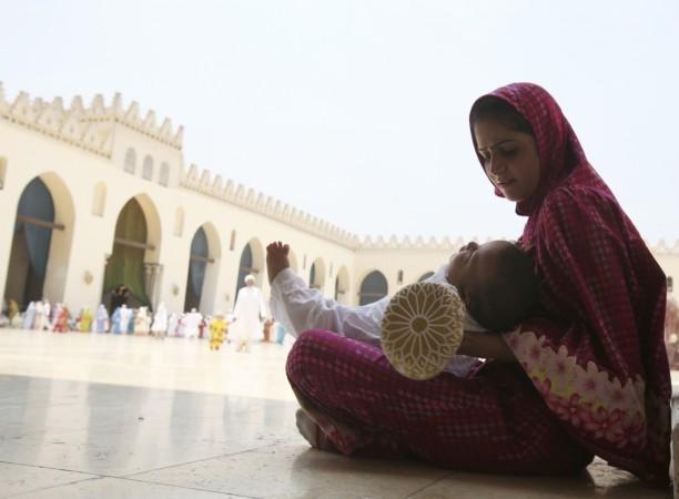 Bohra Muslim woman