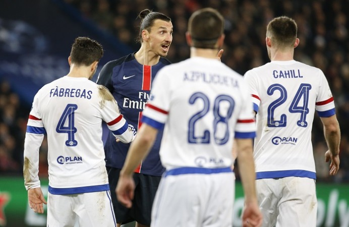 Chelsea PSG Zlatan Ibrahimovic