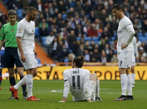 Benzema Bale Ronaldo Real Madrid