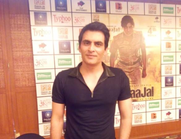 Manav Kaul promotes 'Jai Gangaajal' in Bangalore