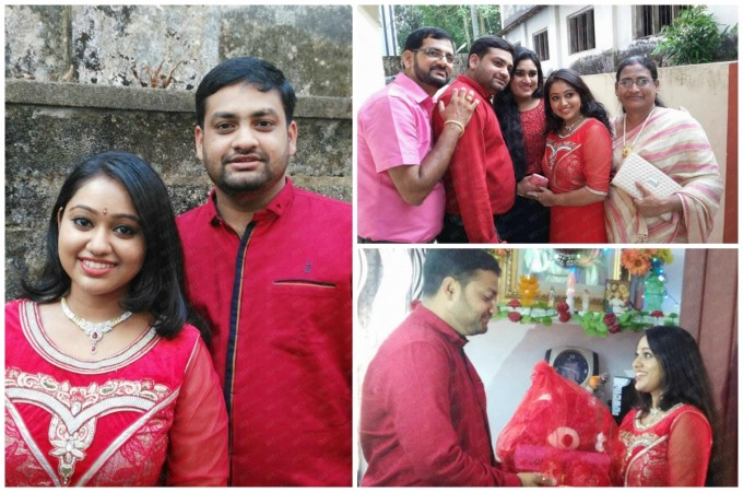 Meghna Vincent gets engaged to Don Tomy