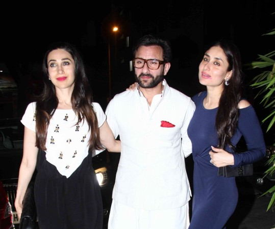 Karisma Kapoor, Saif Ali Khan, Kareena Kapoor Khan