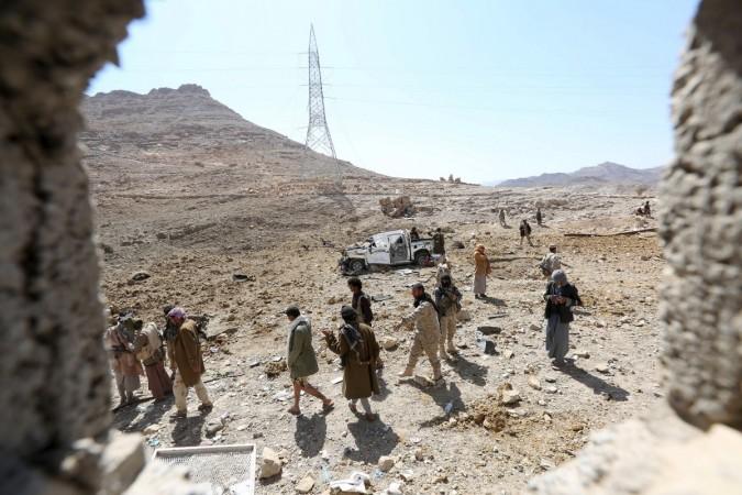 yemen army camp