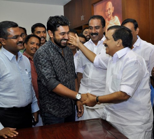 Ramesh Chennithala appreciates Nivin Pauly