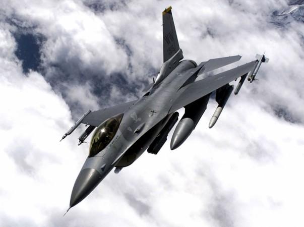 US built F-16 fighter jet