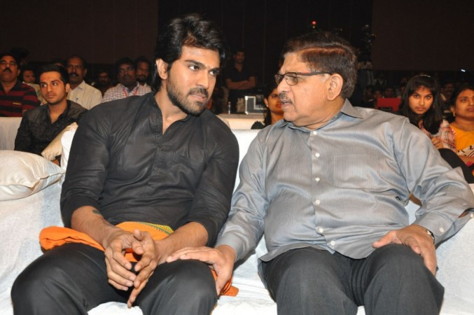 Ram Charan and Allu Aravind