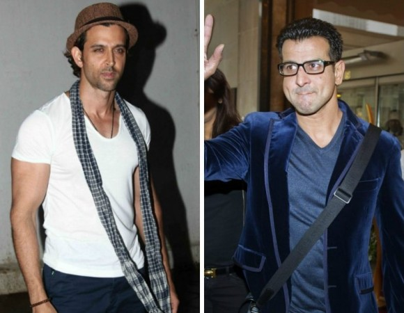 Hrithik Roshan and Ronit Roy