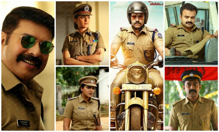 Malayalam Actors in Police Roles