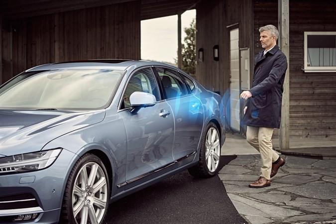 Volvo Keyless car tech