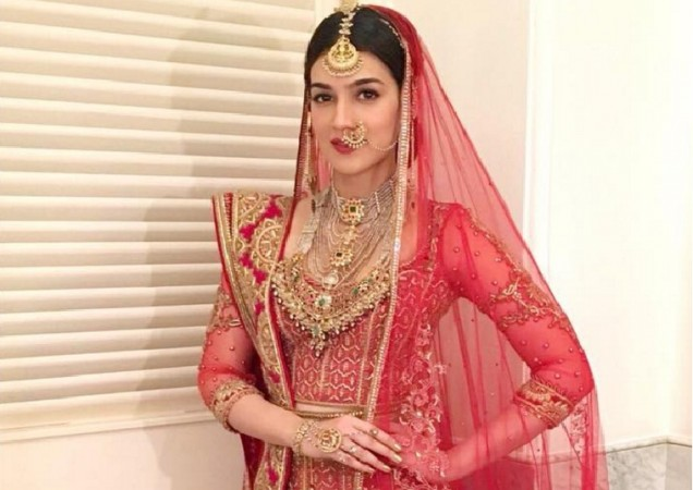 Kriti Sanon turns bride for Tarun Tahiliani