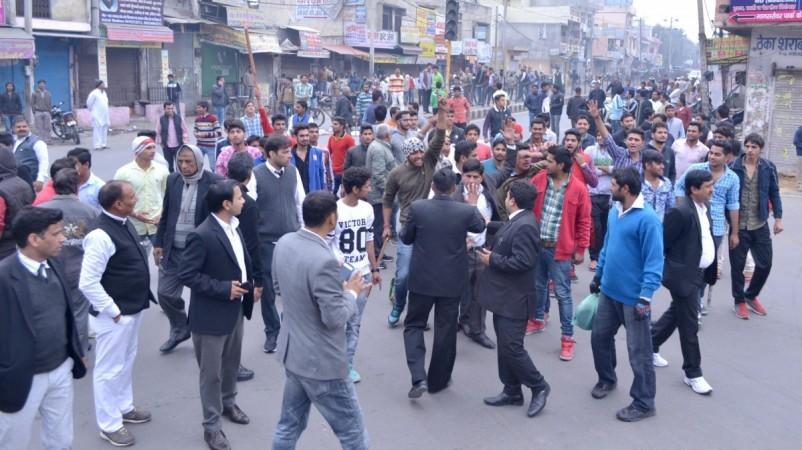 Jat quota protest