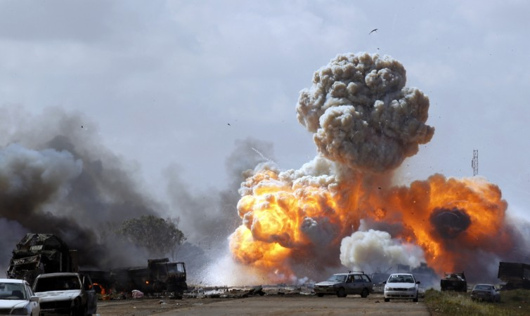Libya US airstrikes