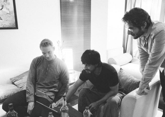 Shah Rukh Khan and Diplo