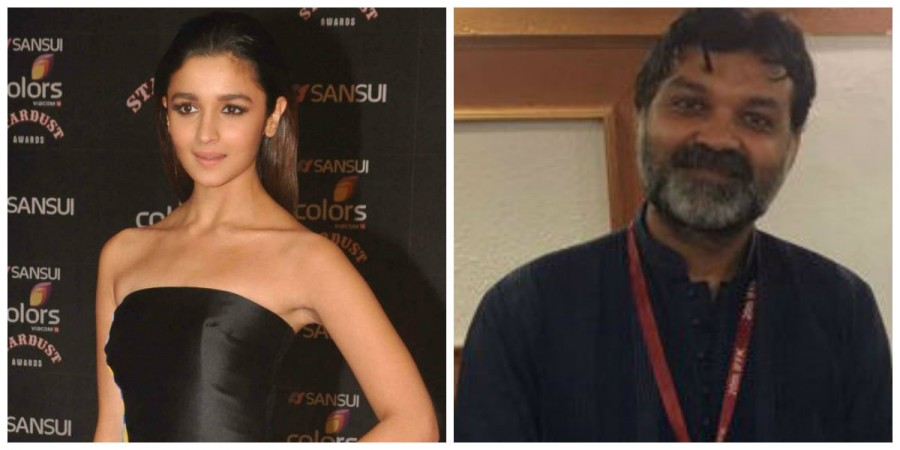 Alia Bhatt and Srijit Mukherji