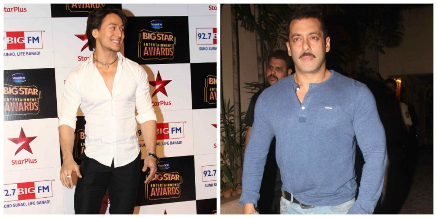 Tiger Shroff and Salman Khan