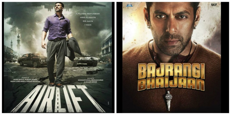 Airlift and Bajrangi Bhaijaan