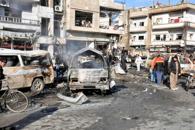 Homs blast