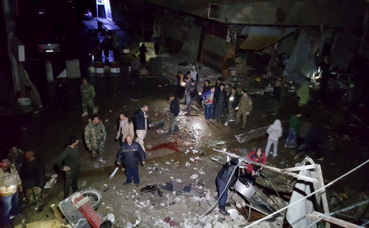 Syria Damascus bomb blast