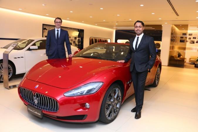 Maserati Mumbai dealership inauguration