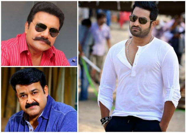 Sai Kumar, Mohanlal and Junior NTR