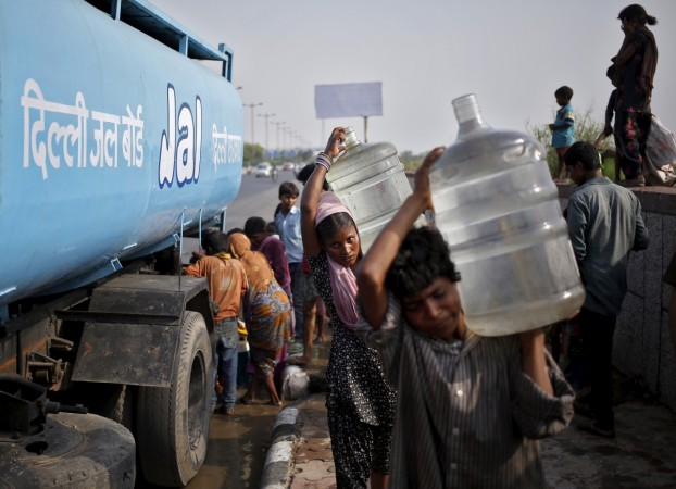 Delhi water supply