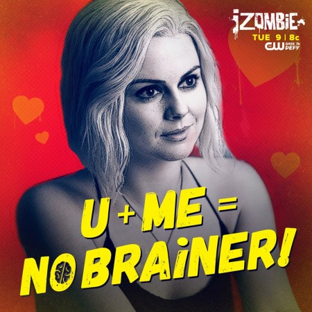 Rose McIver as Liv in 'iZombie'