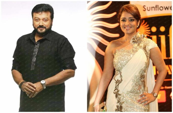Jayaram and Nikita Thukral