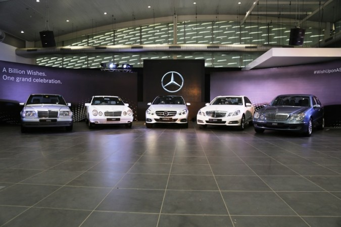 Mercedes-Benz Edition E with previous gen E-Class sedans