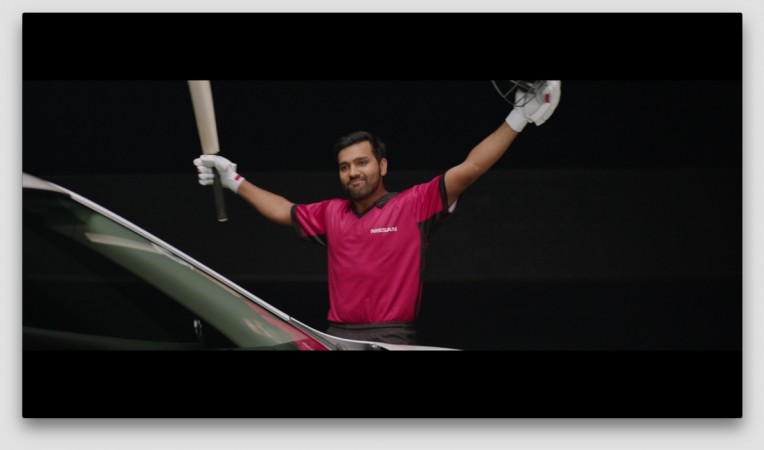 Rohit Sharma as brand ambassador of Nissan