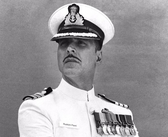 Akshay Kumar as a naval officer in 'Rustom'