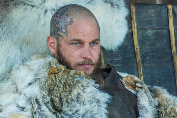 Ragnar is angry with Floki