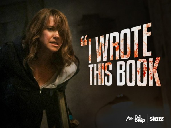 Lucy Lawless as Ruby in 'Ash vs Evil Dead'