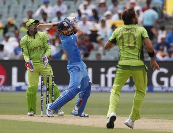 Umar Akmal Virat Kohli Shahid Afridi India Pakistan