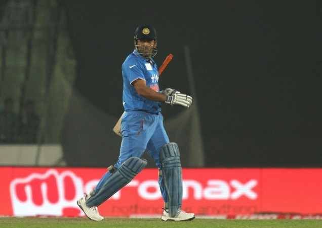 MS Dhoni India Bangladesh Asia Cup 2016