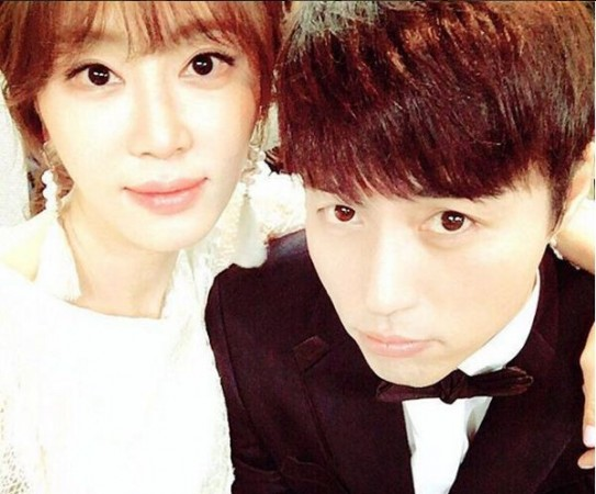 Kang Ye Won and Oh Min Suk