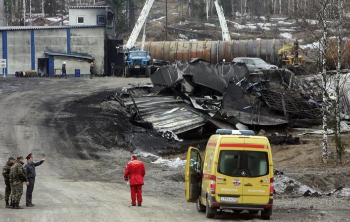Russia mine