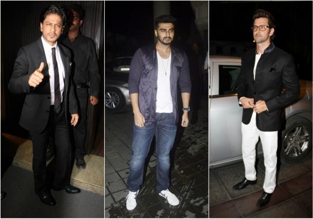 Shah Rukh Khan, Arjun Kapoor, Hrithik Roshan