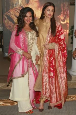 Aishwarya Rai Bachchan and Richa Chadha