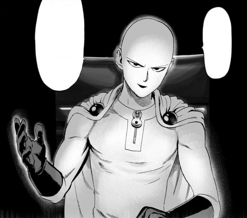 Saitama as he appears in 'One Punch Man' manga