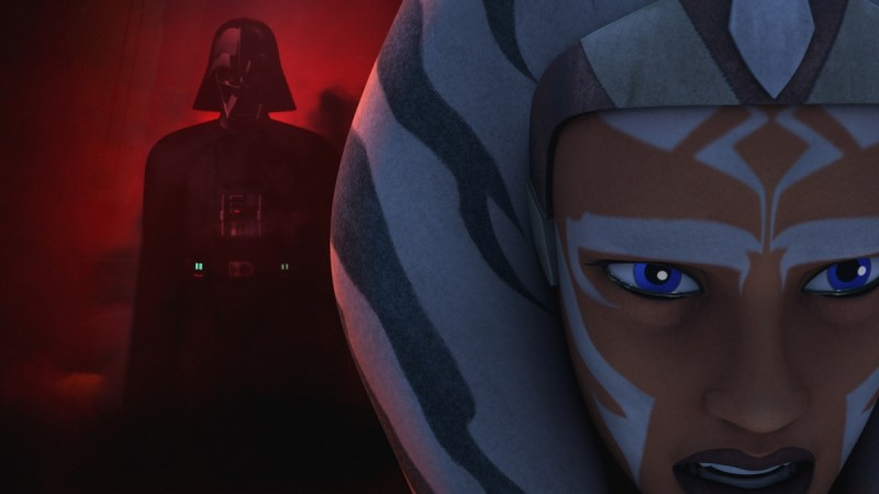 Has Ahsoka survived the fight with Darth Vader?