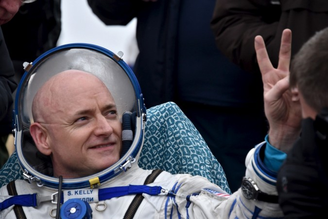 US astronaut Scott Kelly