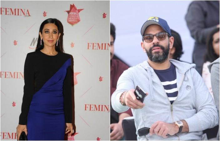 Karisma Kapoor and Sunjay Kapur