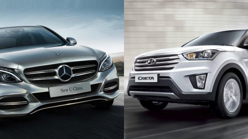 Mercedes, Hyundai Price Hike