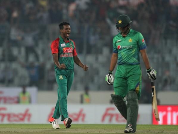 Al-Amin Hossain Bangladesh Khurram Manzoor Pakistan Asia Cup 2016